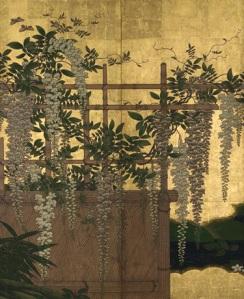 Edo period Japanese screen