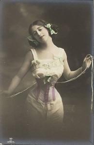 A Victorian corset