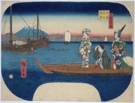 Hiroshige, uchiwa-e